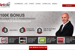 Bonus Scommesse Betclic 100 euro