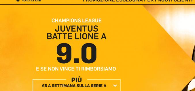 Pronostico Lione – Juventus 18 ottobre 2016