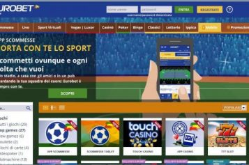 Recensione sull'App Scommesse di Eurobet: disponibile per Iphone, Android e Windows