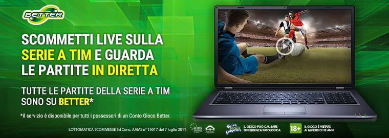Better.it: Streaming Serie A