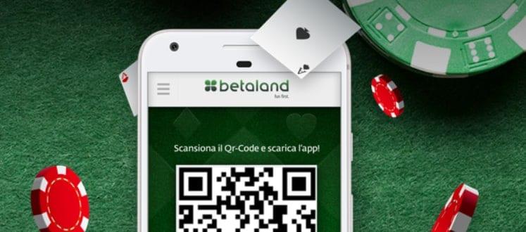 web e app per dispositivi mobili betaland