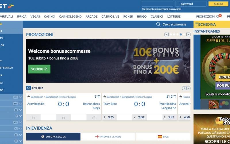 L'App Scommesse di Eurobet: la recensione