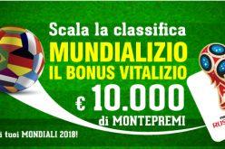 Mundializio di BetFlag: in palio un montepremi di €10.000!