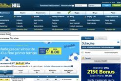 Bonus Scommesse William Hill 100 euro