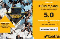 Quota Maggiorata Serie A Lazio-Roma: Scopri come Usufruirne