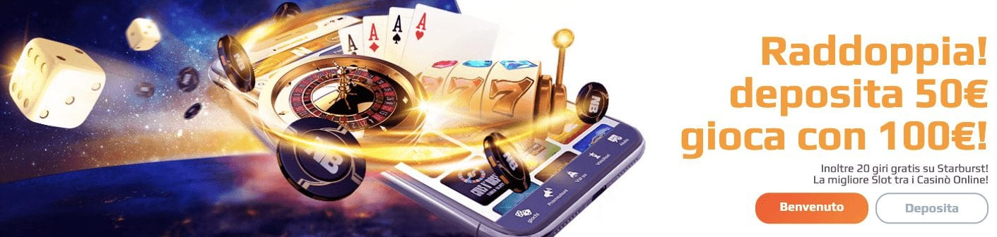 netbet bonus casino senza deposito