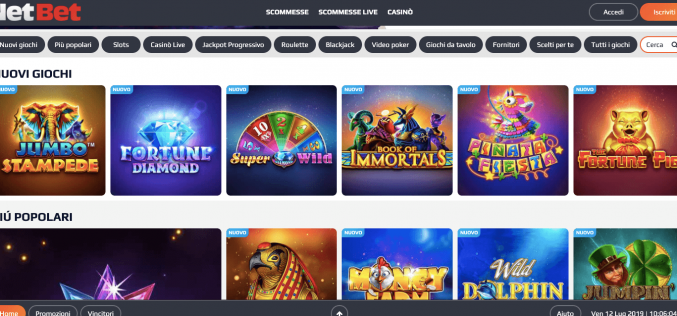Netbet Casino: Recensione e Opinioni  Online   Bonus 200€