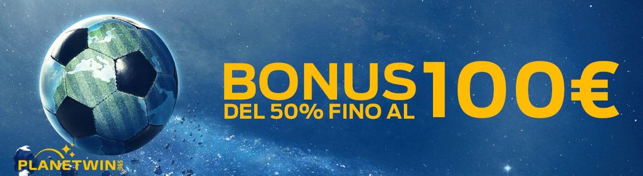 planetwin365 bonus scommesse