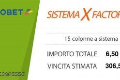Sistema X-Factor: per vincere giocando sul pari!