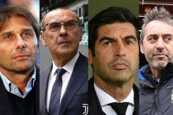 Allenatori Serie A: chi rischia di più?