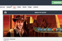 Book of Ra Deluxe su Snai, i bonus a disposizione