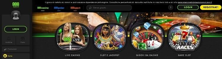 casino slot 888casino