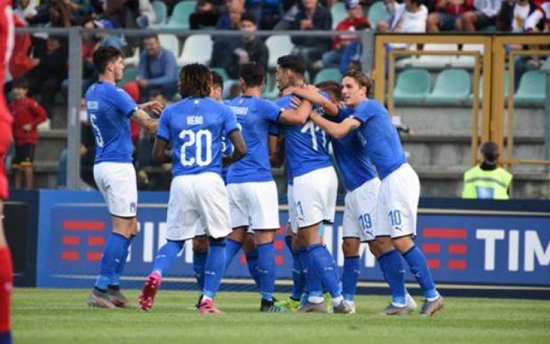 Under 21, comincia con un 5-0 al Lussemburgo il cammino verso l'Europeo