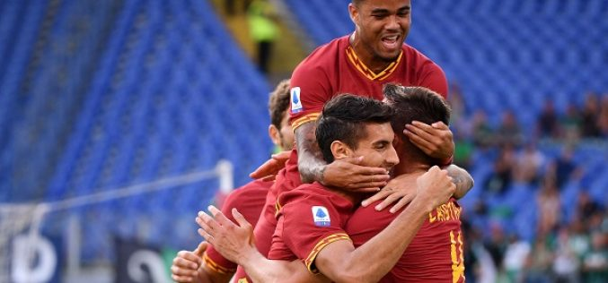 Questa è la Roma di Fonseca, 4-2 al Sassuolo e tanto spettacolo