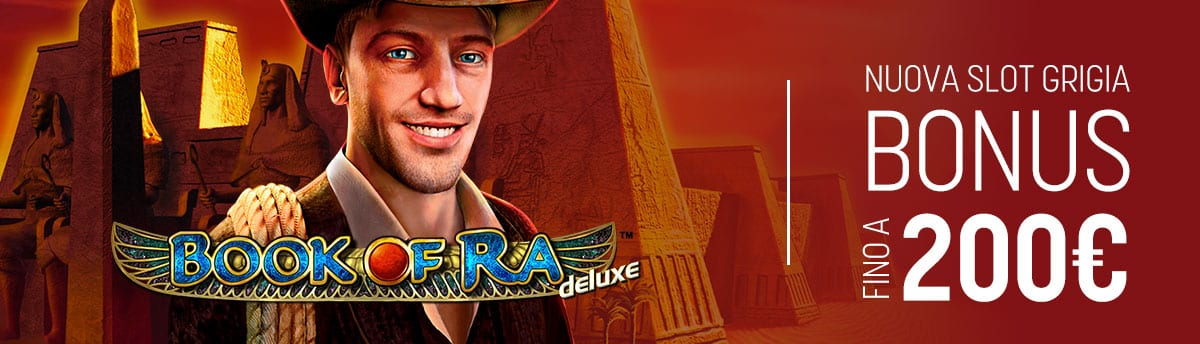 SLot Book of Ra su Snai.it Bonus 200€