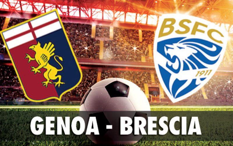 Serie A, Genoa-Brescia: quote, pronostico e probabili formazioni (26/10/2019)