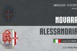 Coppa Italia Serie C, Novara-Alessandria: quote, pronostico e probabili formazioni (09/10/2019)