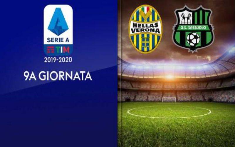 Serie A, Verona-Sassuolo: quote, pronostico e probabili formazioni (25/10/2019)