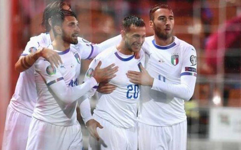 LIechtenstein-Italia 0-5, gli azzurri dilagano nella ripresa