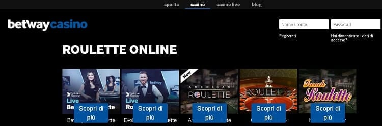 casino slot betway