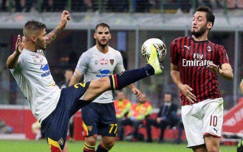 Milan-Lecce 2-2, riecco Piatek ma è amaro il debutto di Pioli
