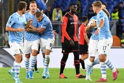 Lazio-Rennes 2-1, Milinkovic e Immobile rimontano i francesi