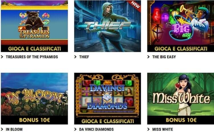 slot machine lottomatica casino