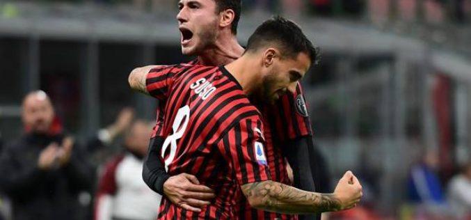 Milan-Spal 1-0, Suso regala il primo successo a Pioli
