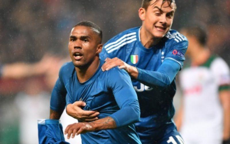 Lokomotiv Mosca-Juventus 1-2, una meraviglia di Douglas Costa lancia Sarri agli ottavi