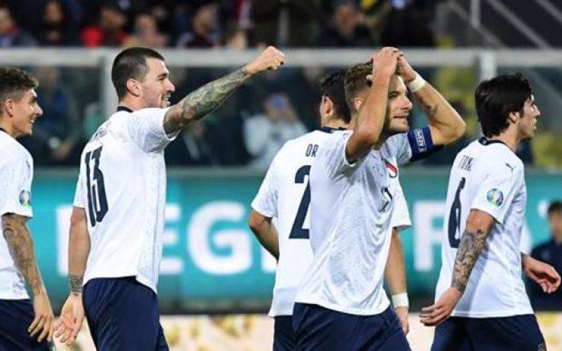Italia travolgente, 9-1 all'Armenia! Mancini chiude il girone a suon di gol