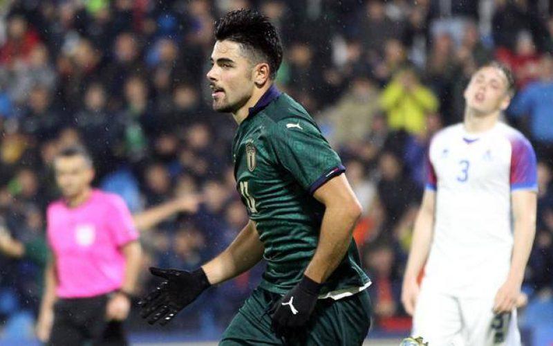 Under 21, Italia-Islanda 3-0: Sottil e Cutrone avvicinano gli azzurrini all'Europeo