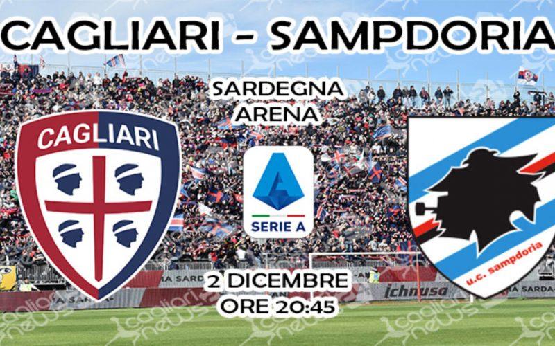 Serie A, Cagliari-Sampdoria: quote, pronostico e probabili formazioni (02/12/2019)