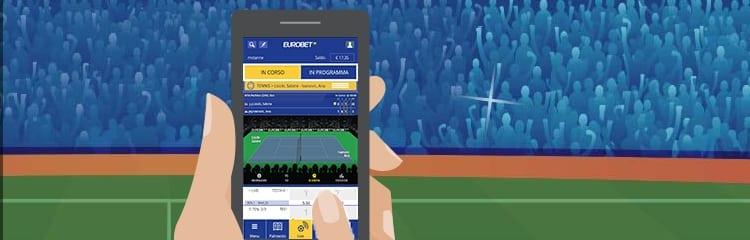 come scommettere- su eurobet app