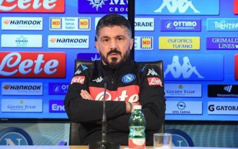 """Napoli, presentato Gattuso: """"L'obiettivo è la Champions, squadra perfetta per me"""""""