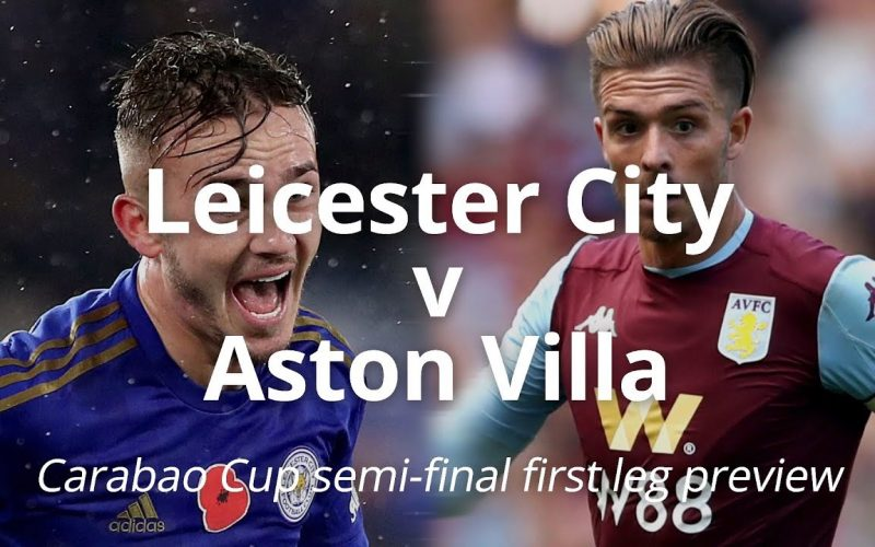 EFL Cup, Leicester-Aston Villa: quote, pronostico e probabili formazioni (08/01/2020)