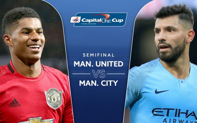 EFL Cup, Manchester Utd-Manchester City: quote, pronostico e probabili formazioni (07/01/2020)