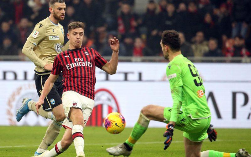 Milan-Spal 3-0, rossoneri ai quarti di Coppa Italia