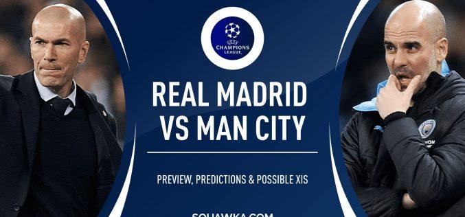 Champions League, Real Madrid-Manchester City: quote, pronostico e probabili formazioni (26/02/2020)