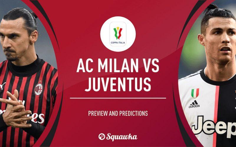 Coppa Italia, Milan-Juventus: quote, pronostico e probabili formazioni (13/02/2020)