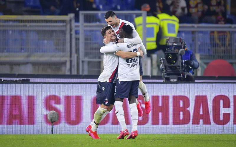 Roma-Bologna 2-3, per i giallorossi ora è crisi