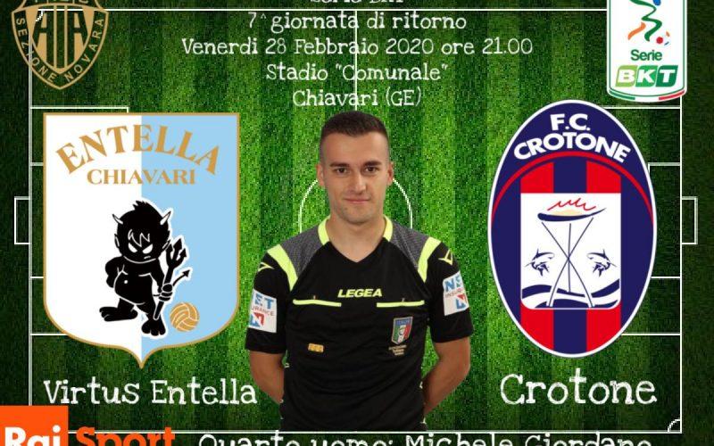 Serie B, Entella-Crotone: quote, pronostico e probabili formazioni (28/02/2020)