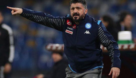 Napoli, voci su un litigio tra Gattuso e la squadra