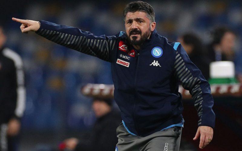 Napoli, Gattuso si gioca la panchina contro Atalanta e Juve