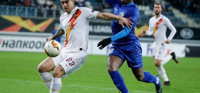 Gent-Roma 1-1, i giallorossi soffrono ma accedono agli ottavi di Europa League