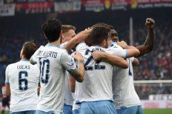 Genoa-Lazio 2-3, i biancocelesti restano in scia della Juventus
