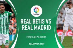 Liga, Betis – Real Madrid: quote, pronostico e probabili formazioni (08/03/2020)