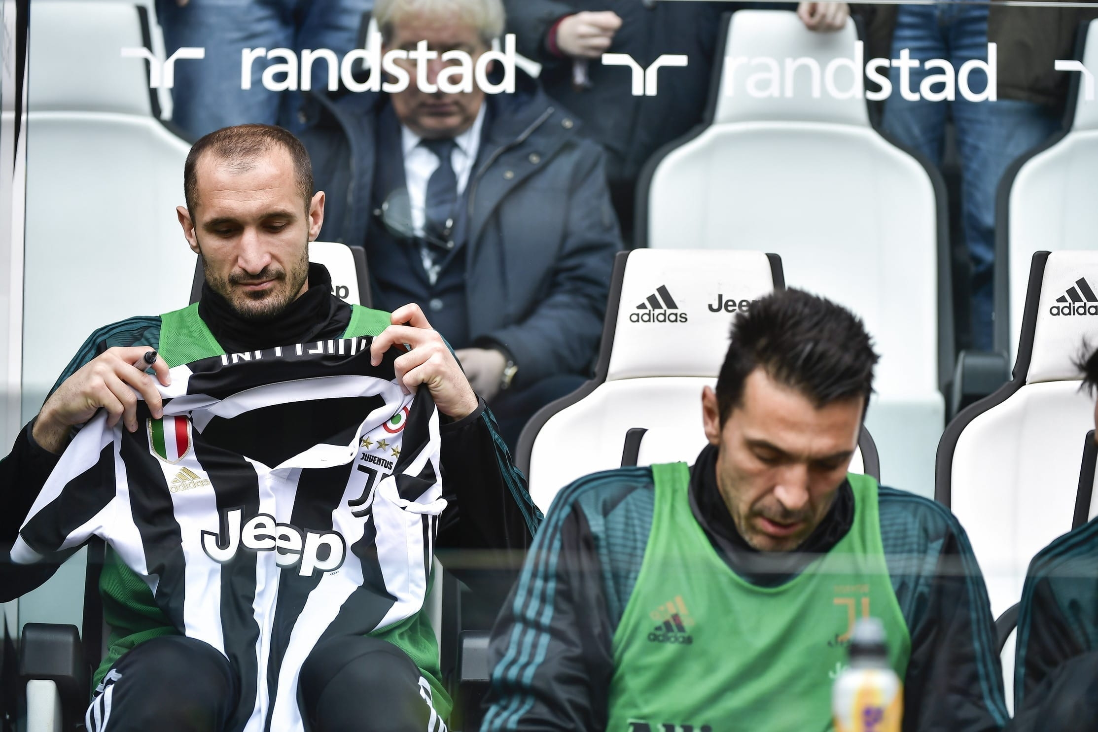 Chiellini e Buffon, Juventus