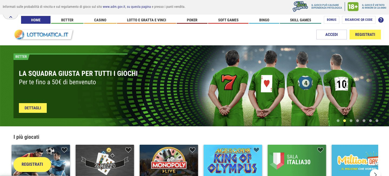 lottomatica homepage