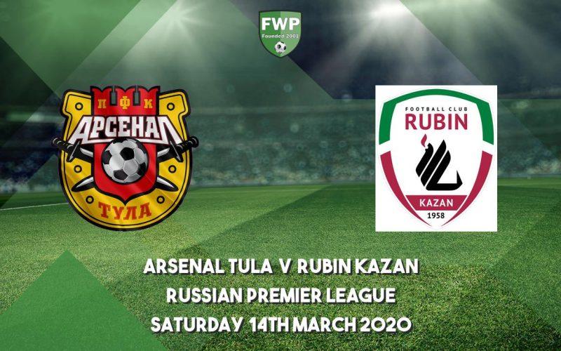 Premier League Russia, Arsenal Tula-Kazan: quote e pronostico(14/03/2020)