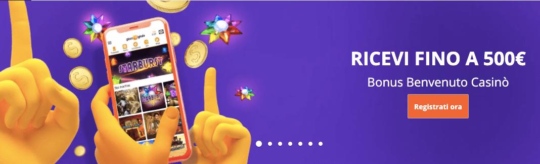 Gioco DigitaleCasino welcome bonus